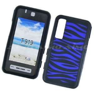 Samsung Behold T919 Premium Black Silicone Skin Case Cover