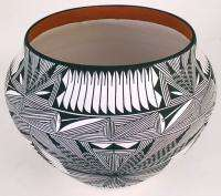 Acoma Pueblo Pottery, 8 3/8H x 11W, by Corrine Chino