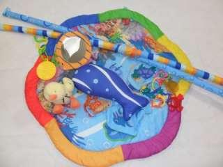 VGUC Baby Einstein Baby Neptune sea ocean travel mat activity gym play