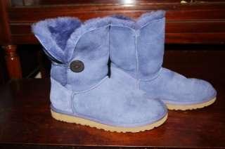 UGG Australia Womens Purple Bailey Button Boots. Womens Size 9 Perfect