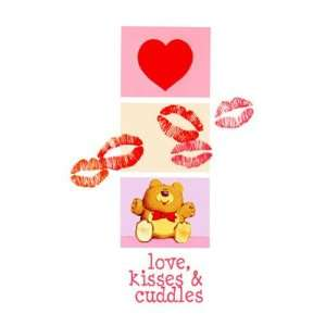 Valentines Day cards   Hugs, Kisses & Cuddles