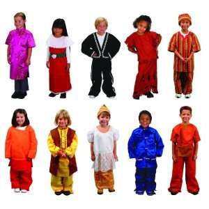 Childcraft Cultural Heritage Multi Ethnic Costumes Pack
