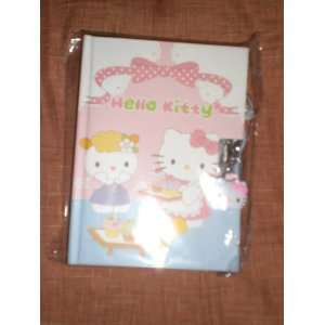 Japanese Sanrio Hello Kitty with Cupcakes Locking Diary Toys & Games