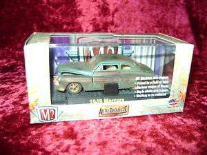 M2 1949 MERCURY AUTO PROJECTS S Scale 164 Car New I