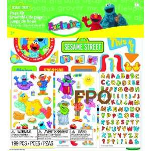 Success Brands Sesame Street Scrapbook Page Kit Arts, Crafts & Sewing