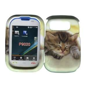 Cute Kitty Cat Pantech Pursuit P9020 At&t Hard Case Snap on Rubberized