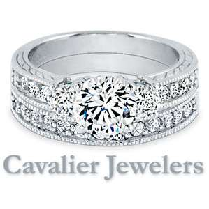 Sterling Silver Cubic Zirconia Womens Ring Bridal Engagement Wedding