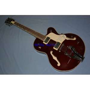 jazz falcon electric guitar dark red china factory
