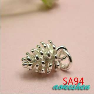 925 STERLING SILVER CHARM PENDANTS JEWELRY BEADS FIT BRACELET EARRINGS