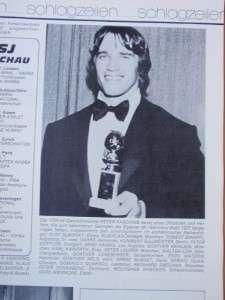 SPORT JOURNAL muscle magazine/DAVE DRAPER/Arnold Schwarzenegger #42