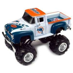 Miami Dolphins 1956 Ford Monster Truck Sports & Outdoors