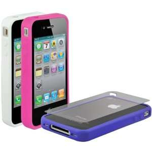 bandIT g4 Rubber Edge Cases for iPhone 4: Electronics