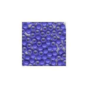 Plastic Mini Pony Beads 5x7mm Royal Blue Opaque, 500pcs