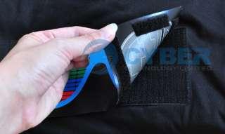 New Sound Activated Hip Hop Glasses Pattern EL LED T Shirt Fashion