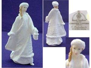Royal Doulton England Bone China Figurine Christmas Lantern #HN3953