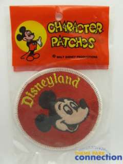 Disney Vintage 1960s Disneyland MICKEY MOUSE Character Costume Patch