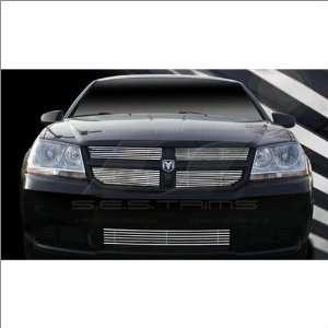 SES Trims Chrome Billet Lower Grille 07 11 Dodge Avenger Automotive