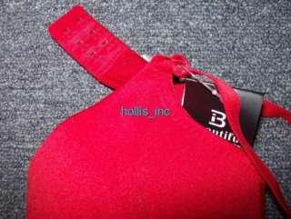New Red Underwire Bra Size 38C Adjustable Straps 38 C
