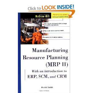 Manufacturing Resource Planning (MRP II) with Introduction