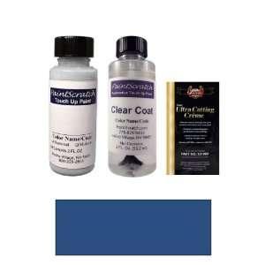 2 Oz. Bright Regatta Blue Metallic Paint Bottle Kit for