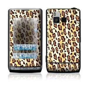LG Dare VX9700 Skin Sticker Decal Cover   Leopard Print