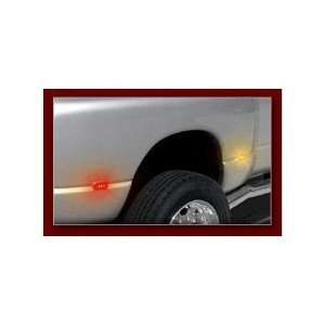 Recon 264130CL LED Fender Lights 1994 2001 Dodge RAM Dually (4 Piece
