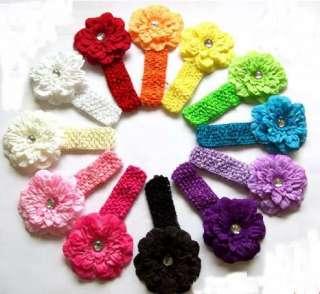 12 Peony Flower Hair Bow Clip Baby Headband Hat Lots
