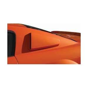 70738 05 09 FORD MUSTANG REAR QUARTER WINDOW SCOOPS DUCTS Automotive
