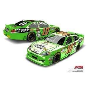 NASCAR Danica Patrick #10 GoDaddy 1/24 Color Chrome Car 2012