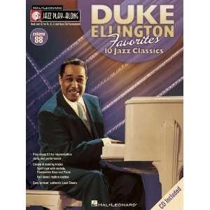 Duke Ellington Favorites   Jazz Play Along Volume 88   Bk