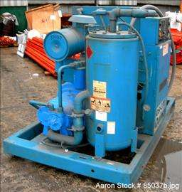USED Quincy rotary screw compressor, model QSI370ANA31