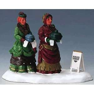 Christmas Village Collection Potluckers Figurine #42898 Home