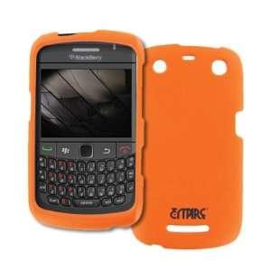 EMPIRE Orange Rubberized Hard Case Cover for BlackBerry