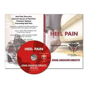 Visual Education Concepts Heel Pain Dvd   Each: Health