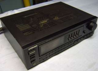 Pioneer SX 2300 Receiver s good but does not power on