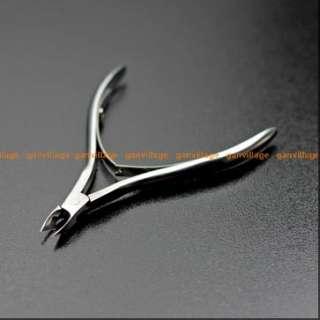 Nail Art Stainless Steel Cuticle Cutter Nipper Clipper