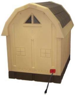 New Heated Insulated Large Dog House Deluxe Dog Palace doghouse Floor