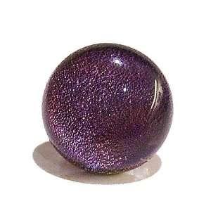 Black Cat Jewellery Store Purple Dichroic Glass Tie / Scarf Pin 16mm