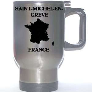 France   SAINT MICHEL EN GREVE Stainless Steel Mug