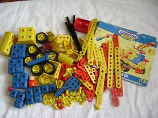 Meccano Erector Junior Parts   Young Engineer from 1993