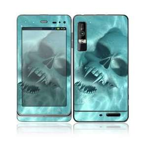 Underwater Vampire Skull Design Decorative Skin Cover Decal Sticker