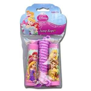Princess Belle, Aurora, Rapunzel, Ariel Pink Jump Rope Toys & Games