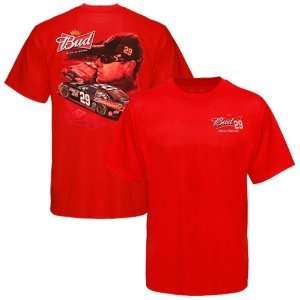 Authentics Kevin Harvick Chassis T Shirt   Red
