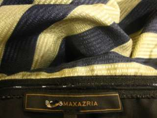 2012 NEW BCBG MAX AZRIA REYA STRAPLESS Striped COCKTAIL DRESS us 4/6/8