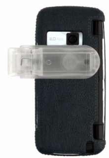 LEATHER HARD CASE COVER BELT CLIP FOR VERIZON LG VOYAGER VX10000 PHONE