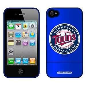 Twins Baseball Club on Verizon iPhone 4 Case by Coveroo Electronics