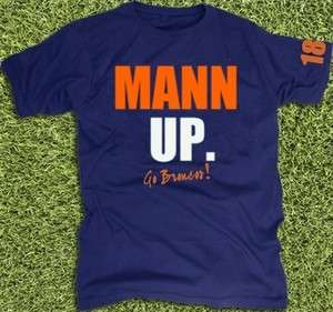 New Limited Peyton Manning Denver Broncos T Shirt #18 All Sizes jersey