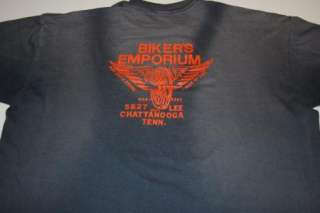 vtg 1987 harley davidson 3d t shirt xl very soft