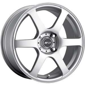 MSR 90 17x7.5 Silver Wheel / Rim 5x120 with a 35mm Offset and a 72.64