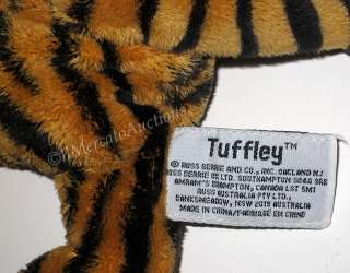 RUSS Berrie Lil Peepers TUFFLEY Stuffed Plush Tiger Toy